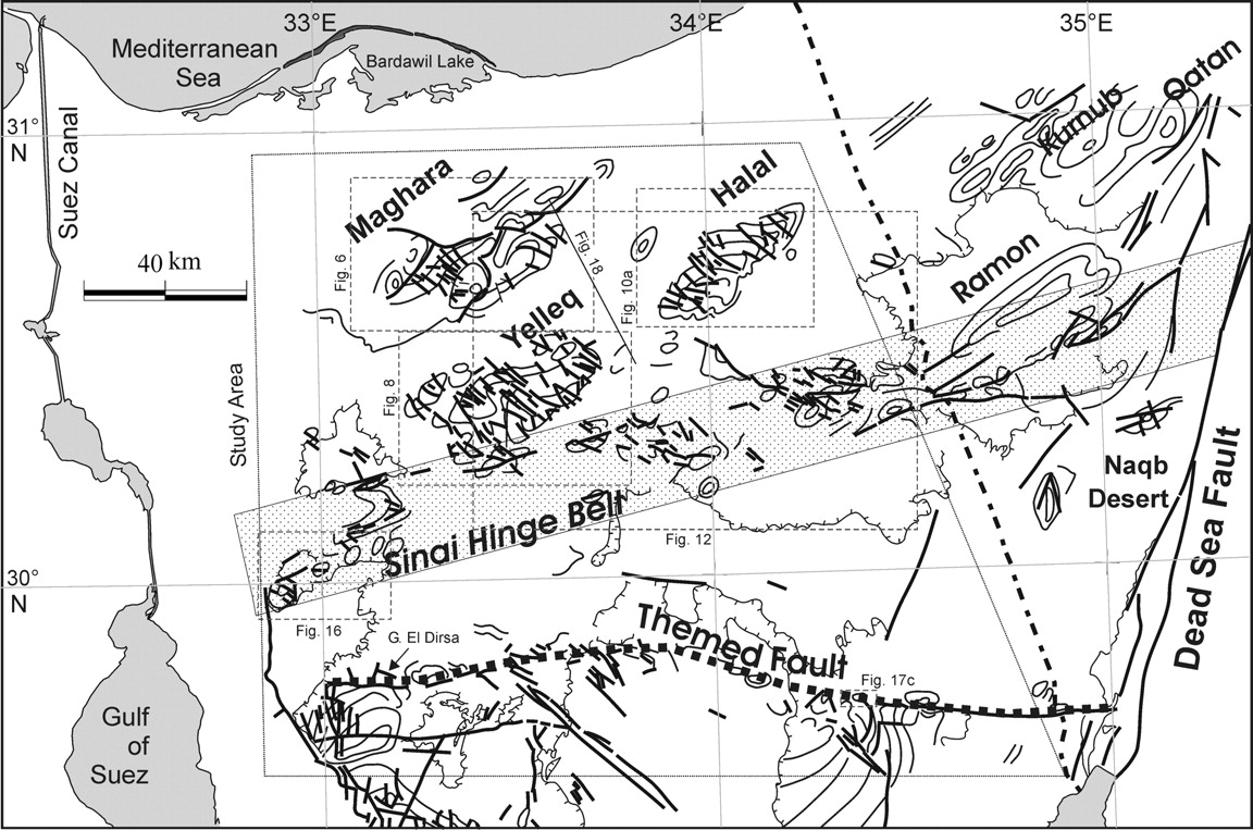 Structural setting and tectonic evolution of North Sinai