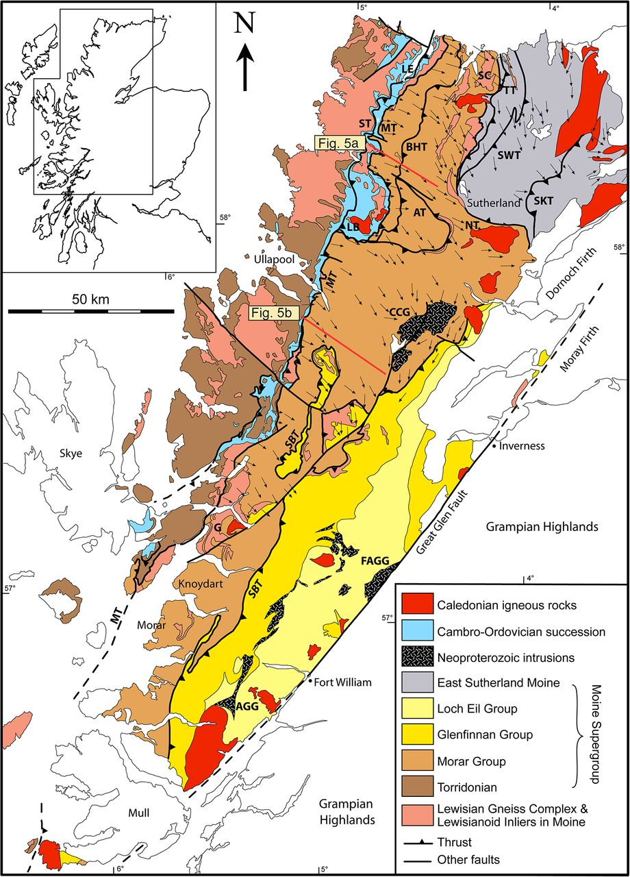 The Laurentian Caledonides of Scotland and Ireland  Geological