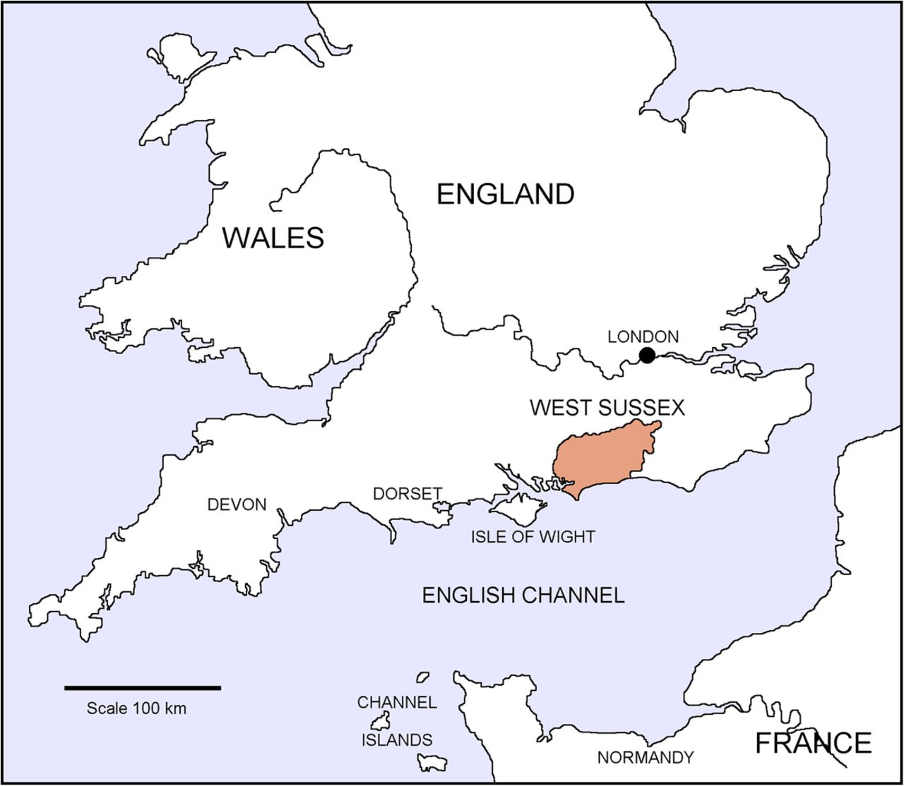 Map Of England 950.The Variety And Distribution Of Building Stones Used In The Churches