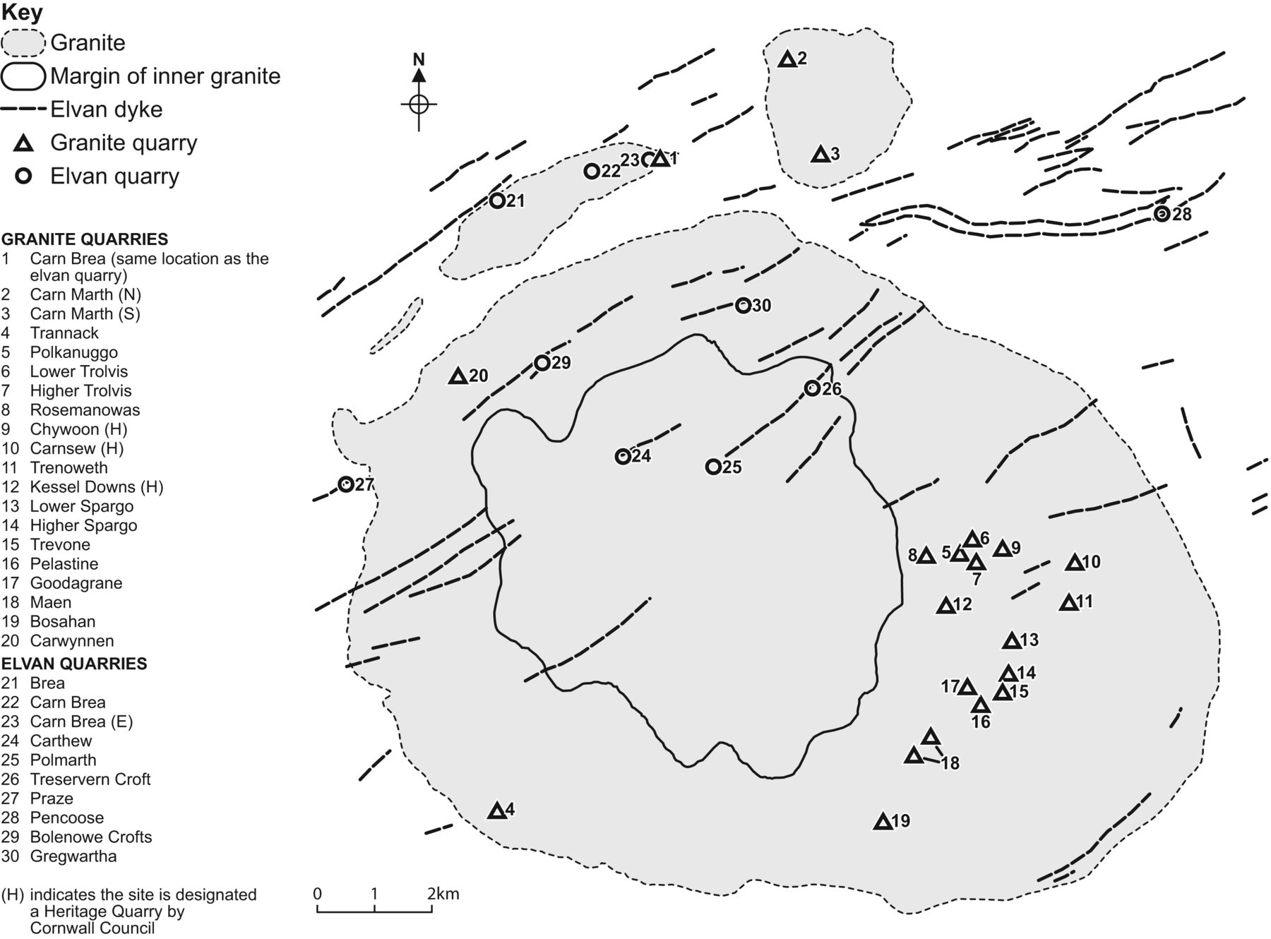 The geology of the building and decorative stones of cornwall uk download figure buycottarizona Image collections