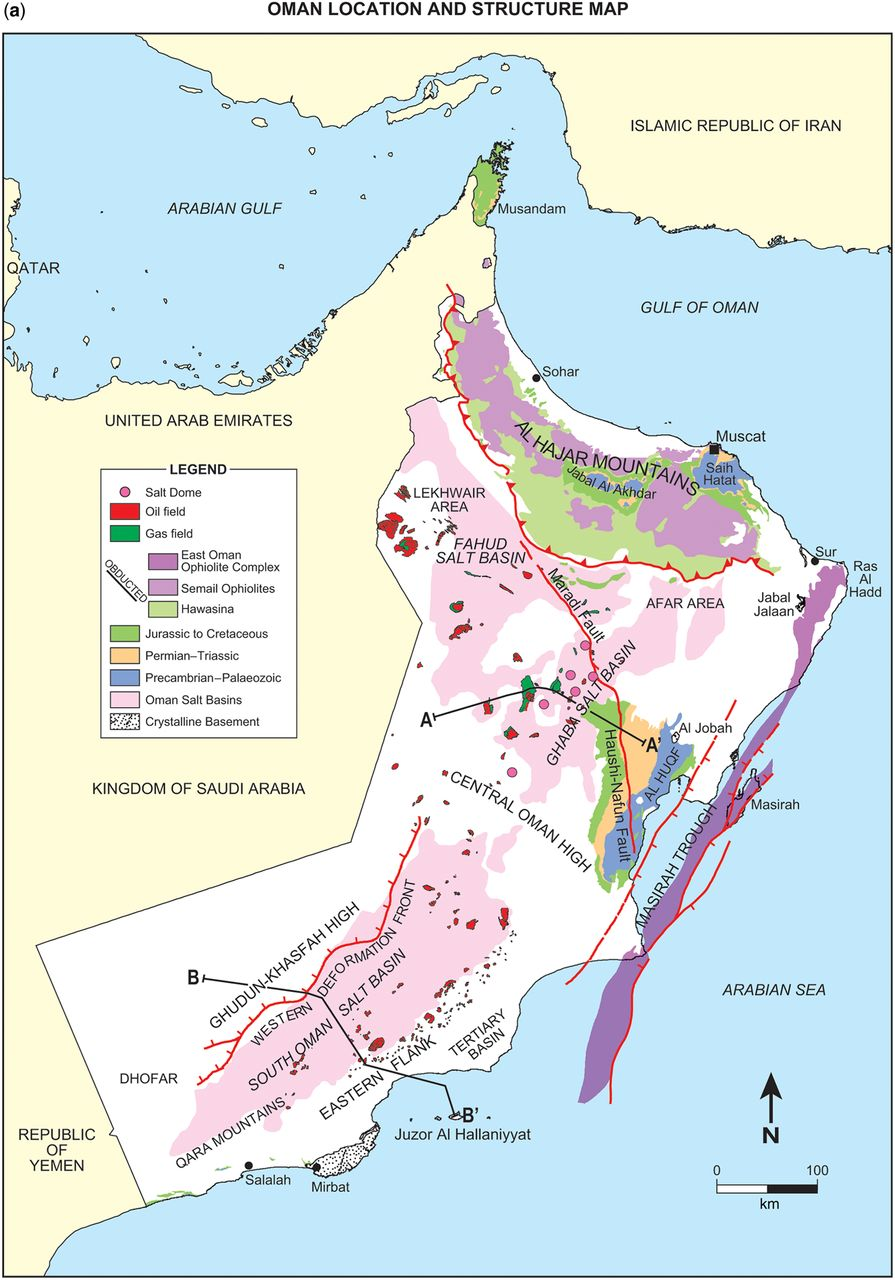 Tectonic Evolution Of The Oman Mountains An Introduction