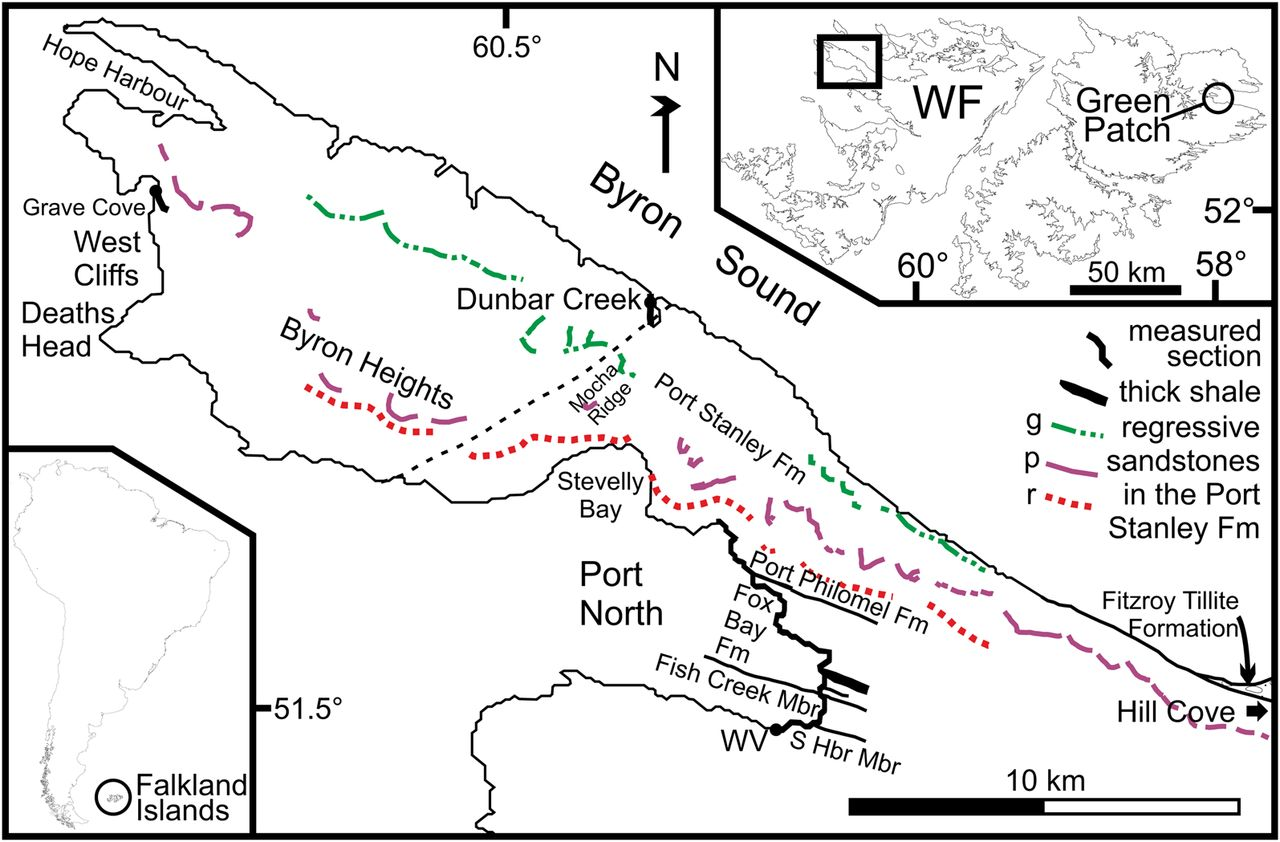 Palynological calibration of Devonian events at nearpolar