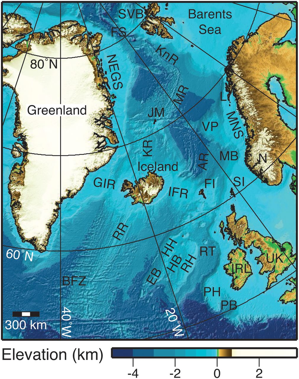 Moho and basement depth in the ne atlantic ocean based on seismic download figure gumiabroncs Image collections