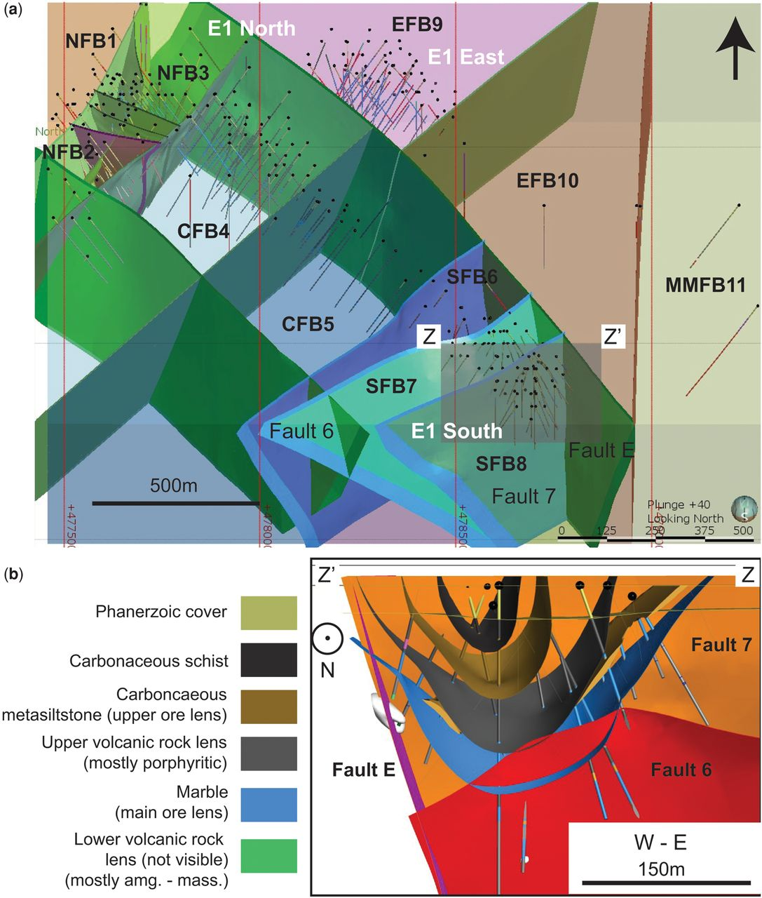 Delineating the structural controls on the genesis of iron oxide–Cu